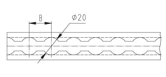 Listwa aluminiowa naścienna system AJ