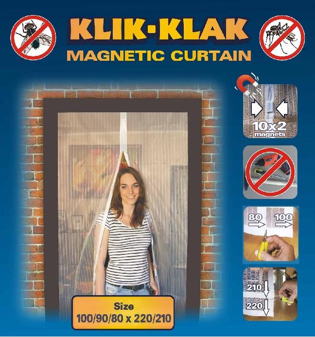 Moskitiera Magnetyczna Biała 1009080 X 220210 039799