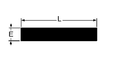 Taśma gumowa 3x15 mm